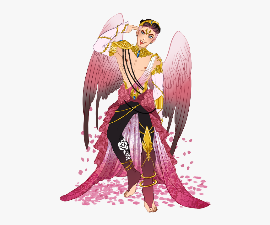 Sexy Angel Png -his Name Is Romeo V - Ever After High Fanart, Transparent Png, Free Download