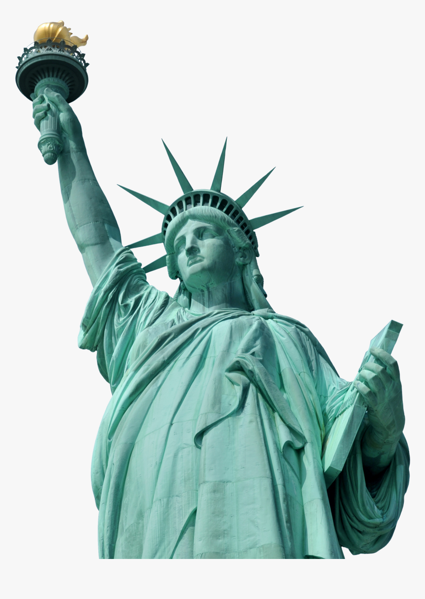 Statue Of Liberty Png - Statue Of Liberty, Transparent Png, Free Download