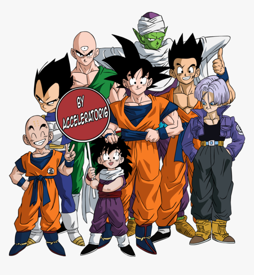 Download Dragon Ball Z Characters Png Photos - Dragon Ball Z, Transparent Png, Free Download