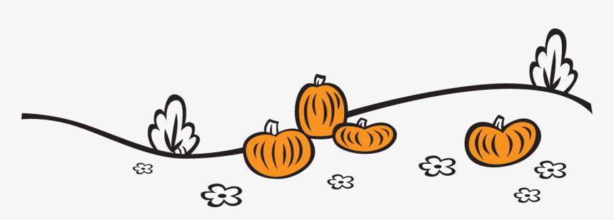Pumpkins On A Hillside - Pumpkin, HD Png Download, Free Download