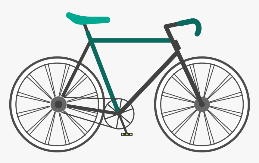 Fixed Gear Bicycle Single Speed Bicycle Track Bicycle - Racing Cycle In India, HD Png Download, Free Download