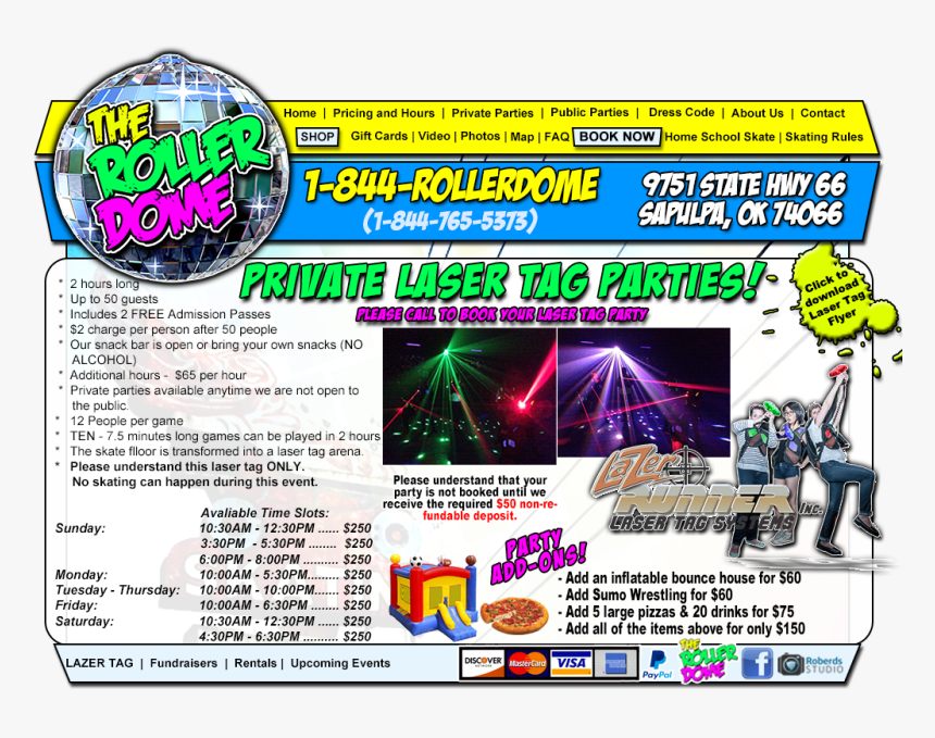 Welcome To Route 66 Roller Dome - Online Advertising, HD Png Download, Free Download