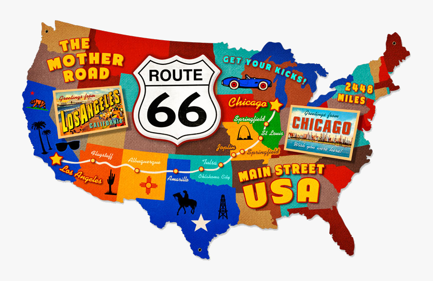 Route 66 Sign SVG, Route 66 Sign Cut File Download, Route 66 Sign Svg dxf  Eps,