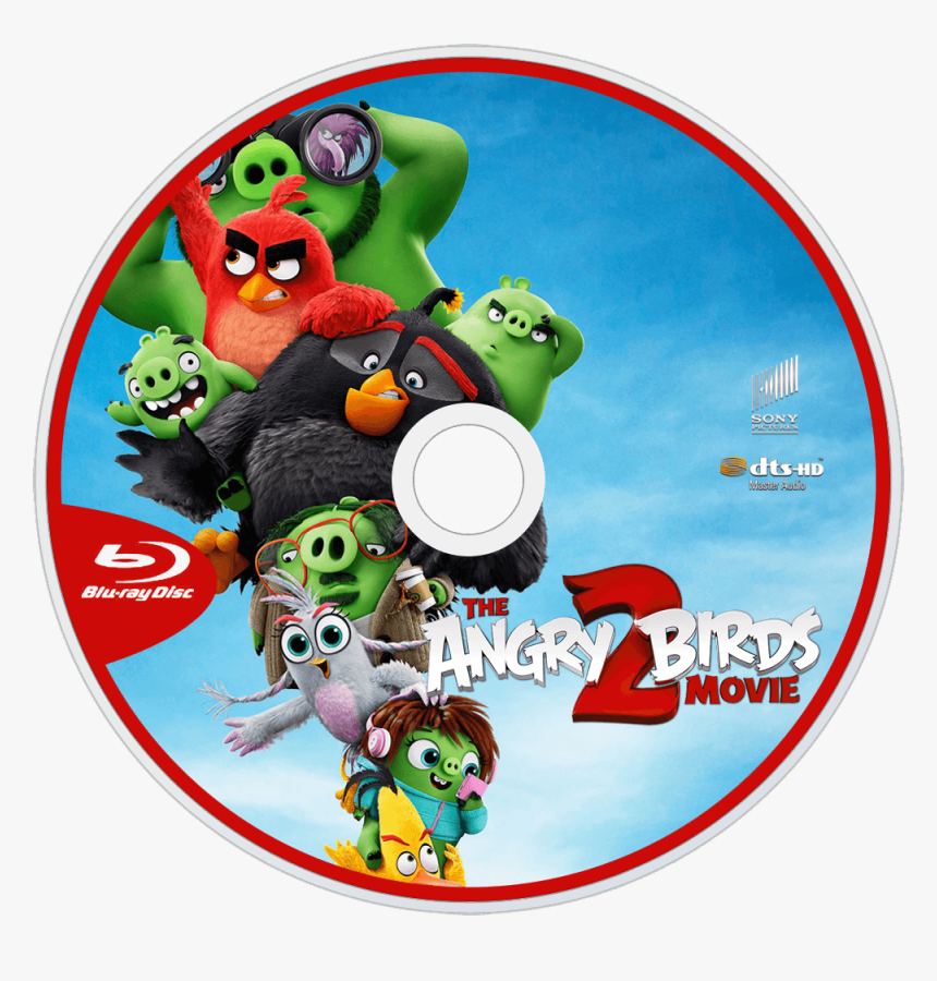 Angry Birds Movie 2 Bluray, HD Png Download, Free Download