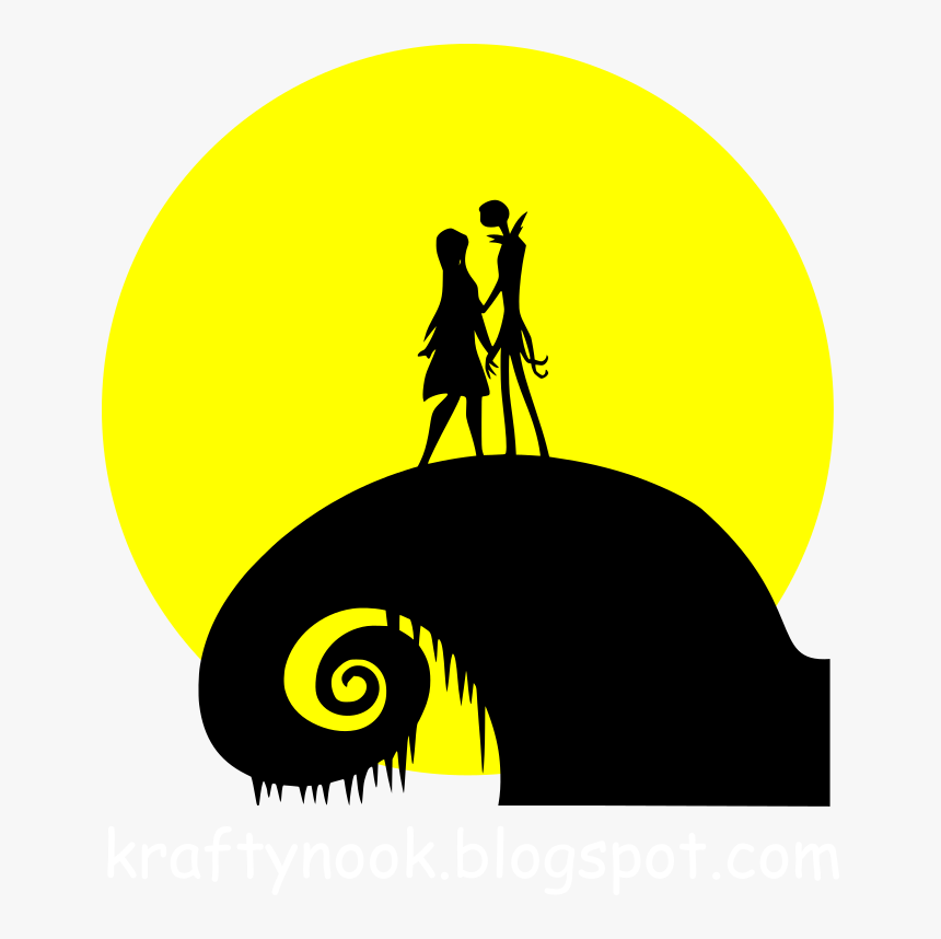 Movies Personal Use Nightmarebeforechristmas Silhouette Nightmare Before Christmas Vinyl Decal Hd Png Download Kindpng The monsters come out and perform a real scare. nightmare before christmas vinyl decal