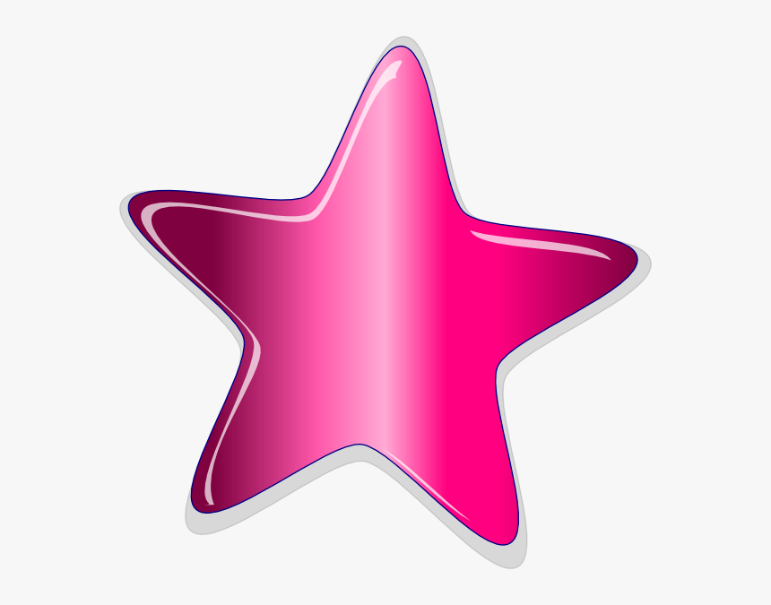 Peach Star Clipart Image Transparent Library Funky, HD Png Download, Free Download