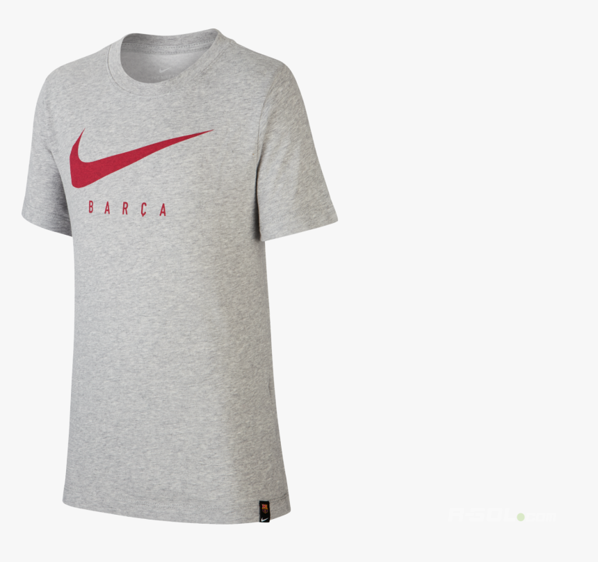 T Shirt Nike Fc Barcelona Dry Tee Tr Ground Junior - Barca Shirt Dry Tee, HD Png Download, Free Download