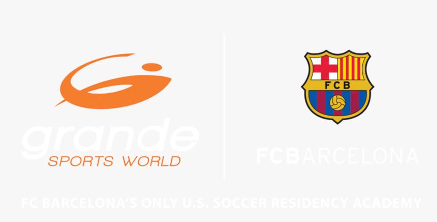 Grande Sports World Fc Barcelona Joint Logo - Fc Barcelona, HD Png Download, Free Download