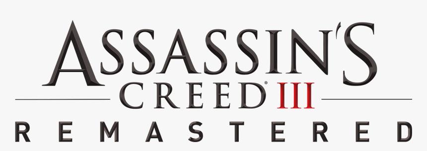Assassin S Creed 3 Remastered Logo Png Transparent Png Kindpng