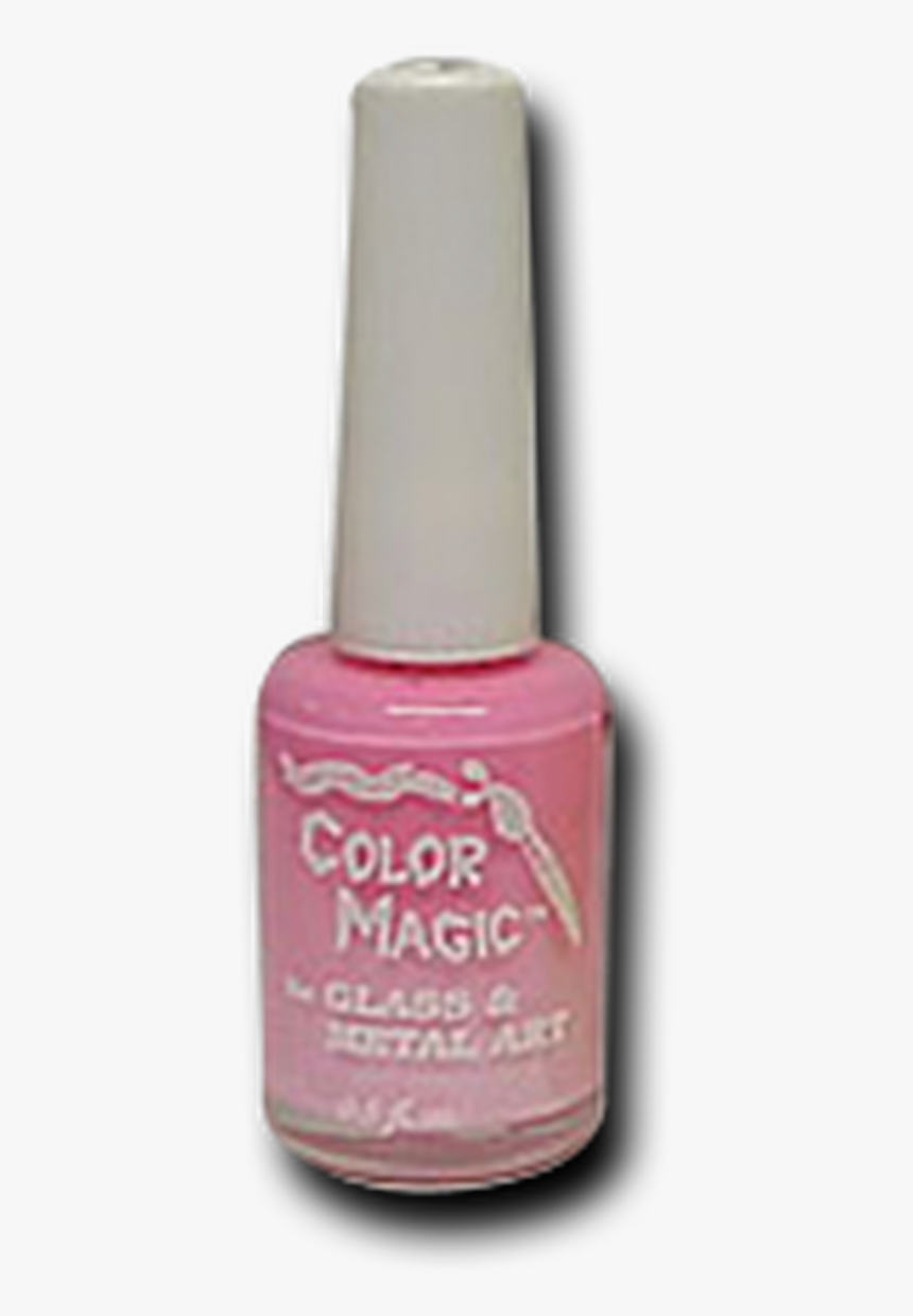 Pink Opaque Color Magic Multi-surface/glass Paint - Nail Polish, HD Png Download, Free Download