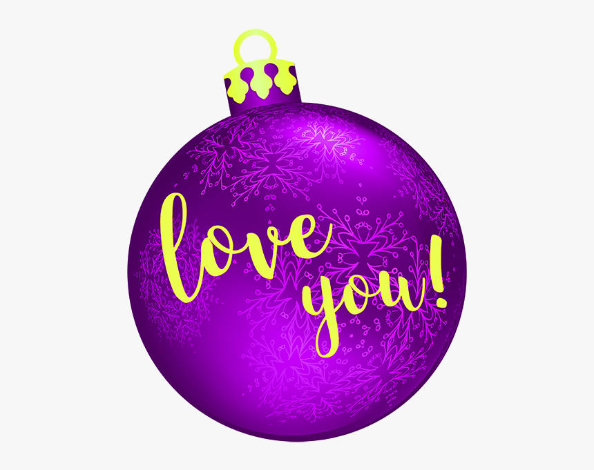 Christmas Bulbs Messages Sticker-7 - Christmas Ornament, HD Png Download, Free Download
