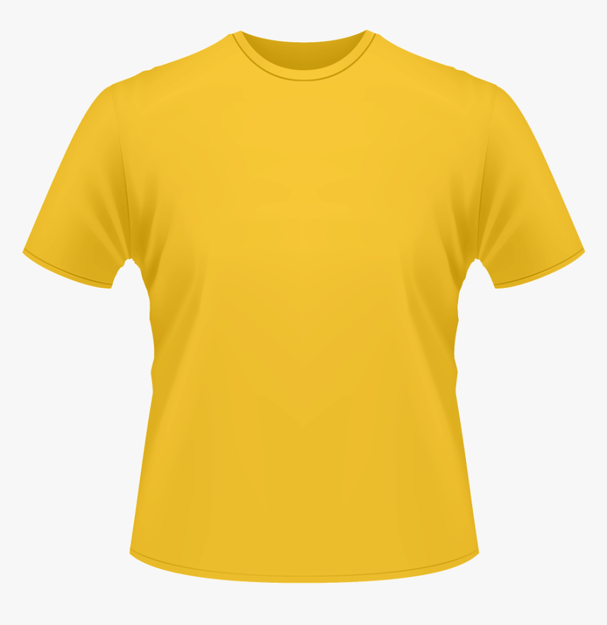 Yellow T Shirt Transparent Background Hd Png Download Kindpng