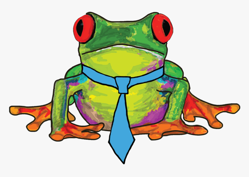 Fed Ex Clipart Frog - Red-eyed Tree Frog, HD Png Download, Free Download