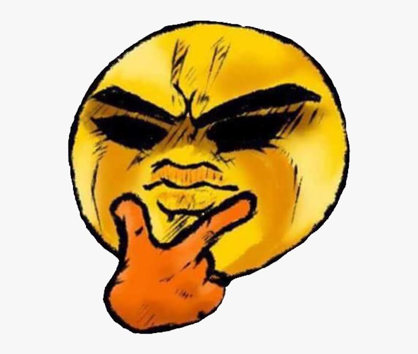 Emoji Png Thinking Emoji Png Thinking - Emoji Jojo, Transparent Png, Free Download