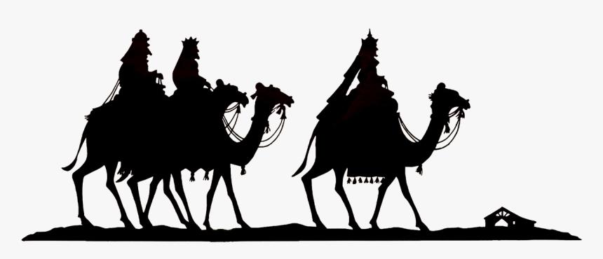Wise Men Silhouette Png , Png Download - Los Reyes Magos Transparent, Png Download, Free Download
