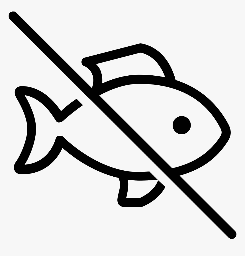 Fish Icon Png Clipart , Png Download - Fish Icon Png, Transparent Png, Free Download