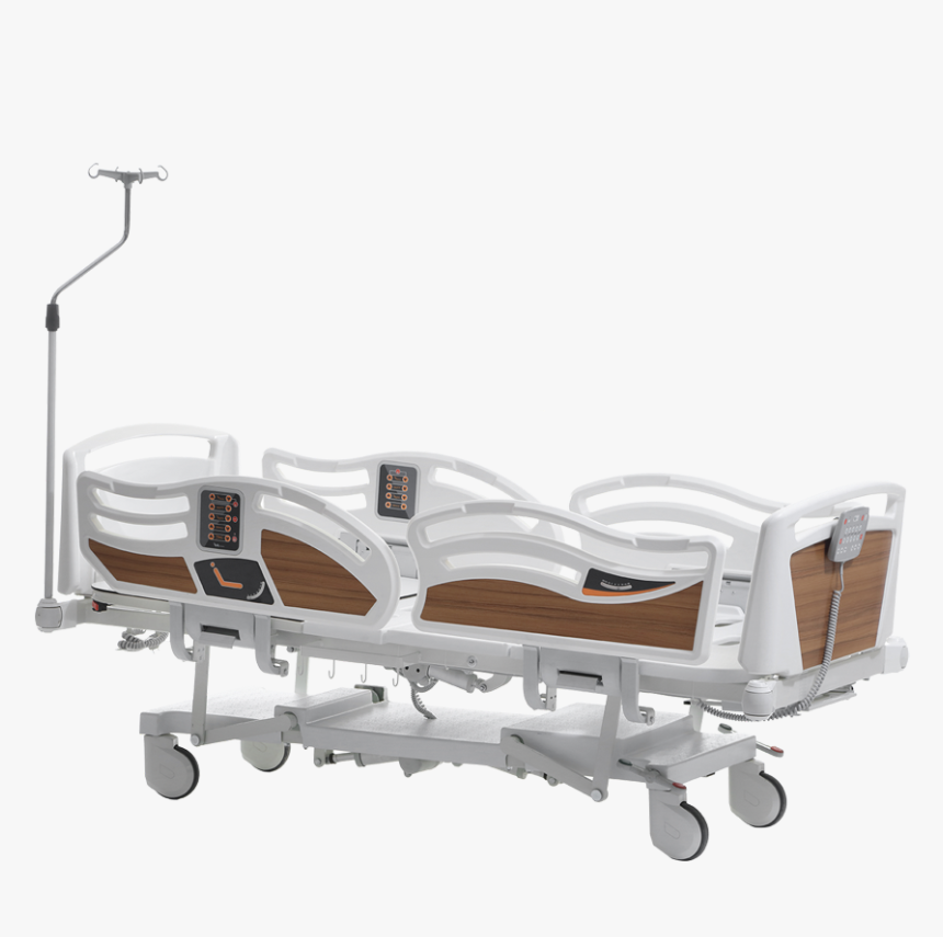 3400 Hospital Bed With 4 Motors - Bed Frame, HD Png Download, Free Download