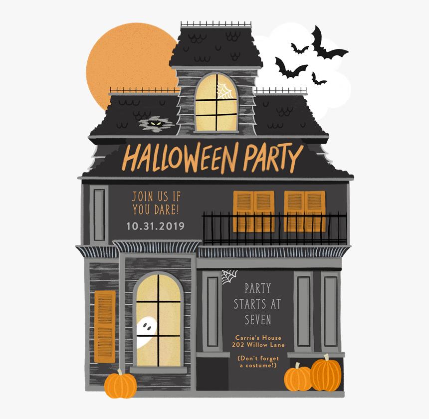 Halloween Shark Kid Invitation, HD Png Download, Free Download