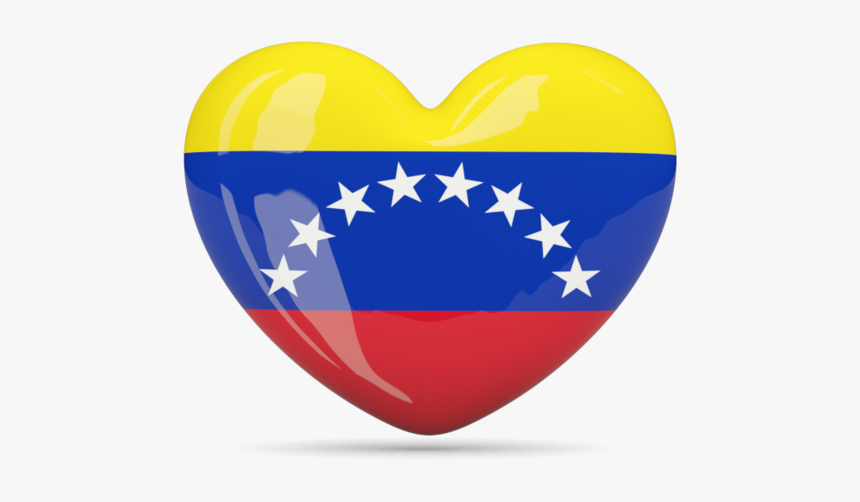Venezuela Flag Heart - Venezuela Flag Heart Png, Transparent Png, Free Download