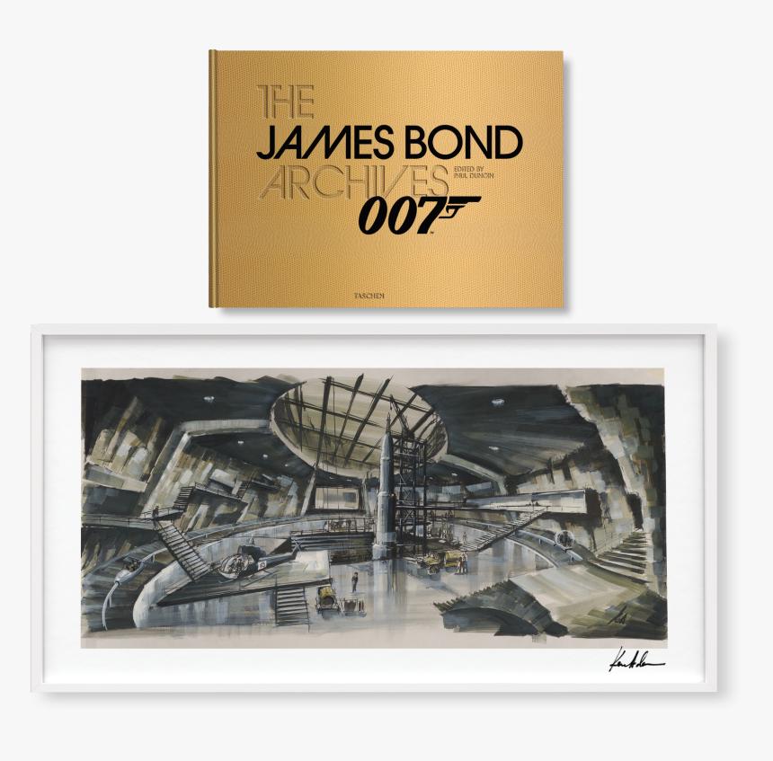 The James Bond Archives, Golden Edition No - James Bond Concept Art, HD Png Download, Free Download