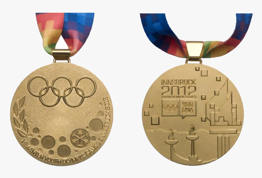 Medaille De Vainqueur - 2012 Youth Olympic Medal, HD Png Download, Free Download