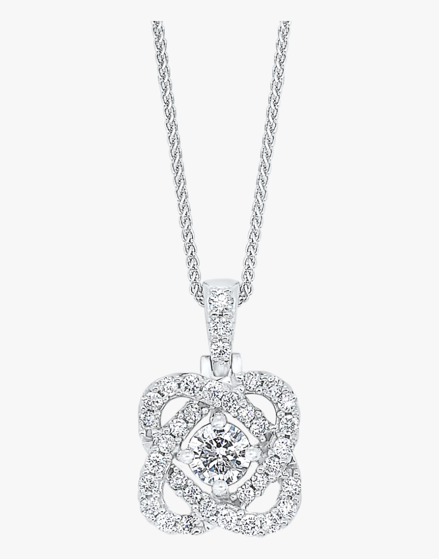 Filigree Diamond Necklace, HD Png Download, Free Download