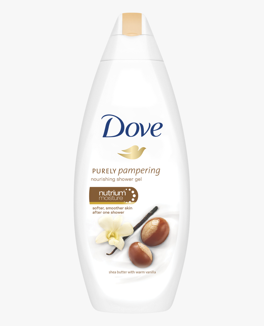 Dove 700ml Shower Gel - Dove Purely Pampering Body Wash Shea Butter, HD Png Download, Free Download