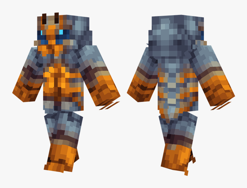 Minecraft Red Armor Skin, HD Png Download, Free Download