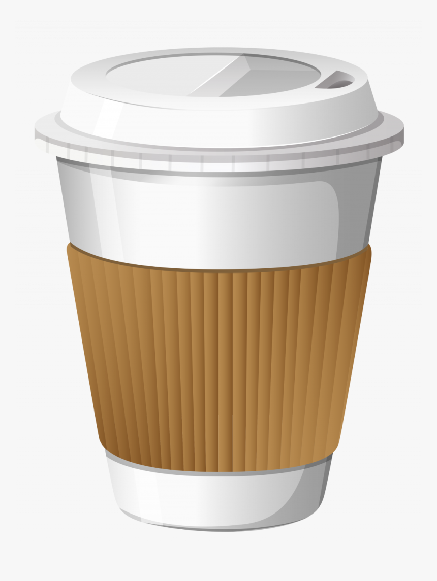 Transparent Plastic Cup Clipart - Coffee Cup Transparent Background, HD Png Download, Free Download