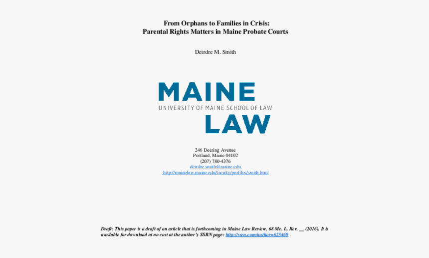 University Of Maine School Of Law, HD Png Download, Free Download
