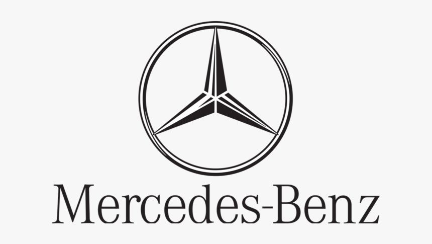 Mercedes Benz Black And White Logo, HD Png Download, Free Download