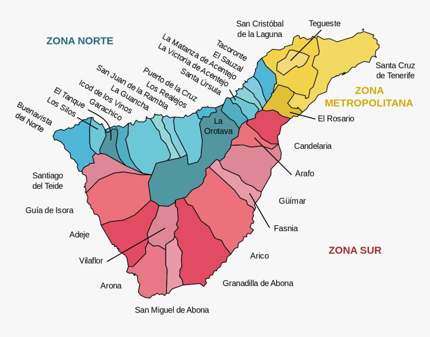 Zonas Básica De Salud Tenerife, HD Png Download, Free Download