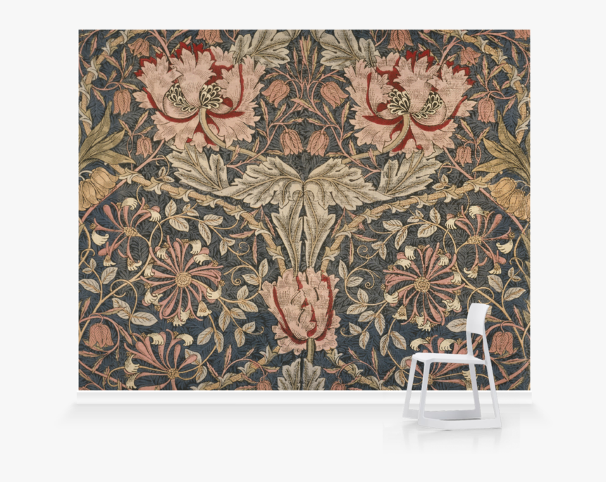 Honeysuckle 1876 William Morris, HD Png Download, Free Download
