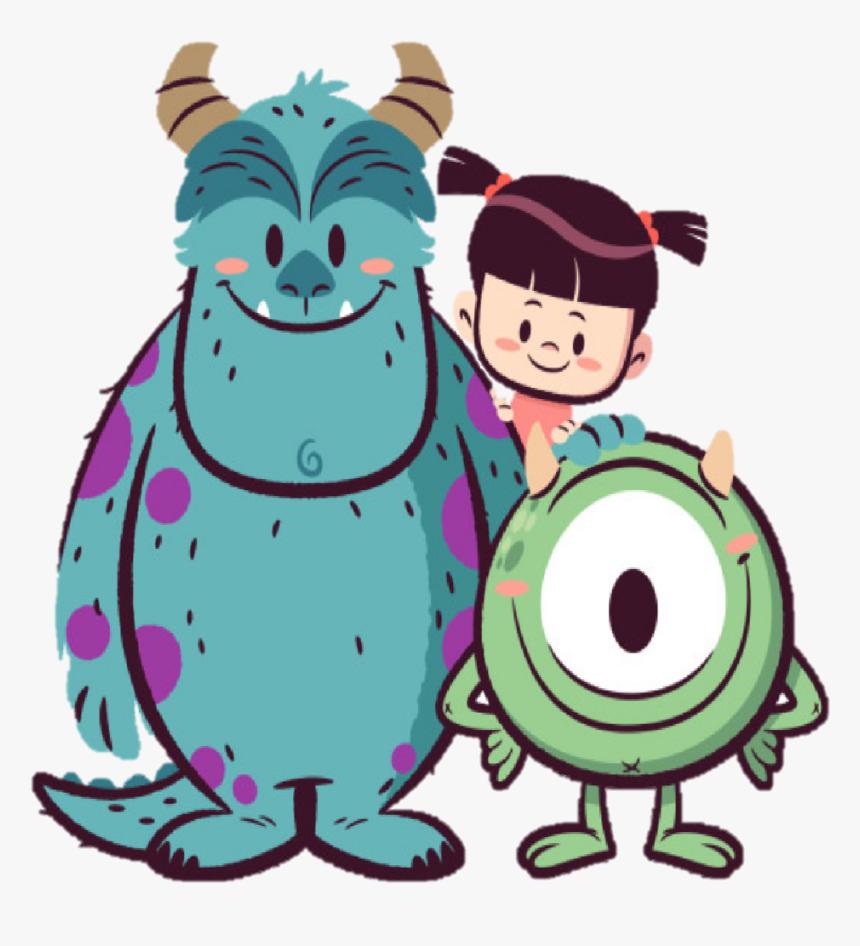 Monster Inc Art, HD Png Download, Free Download