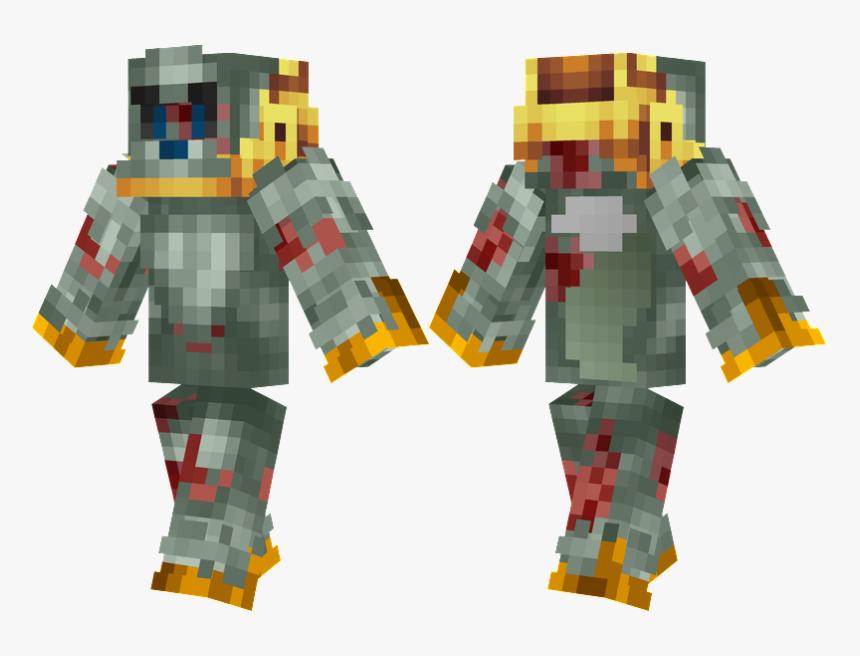 Minecraft Ghost Robes Skin , Png Download - Skin De Fnaf Freddy, Transparent Png, Free Download