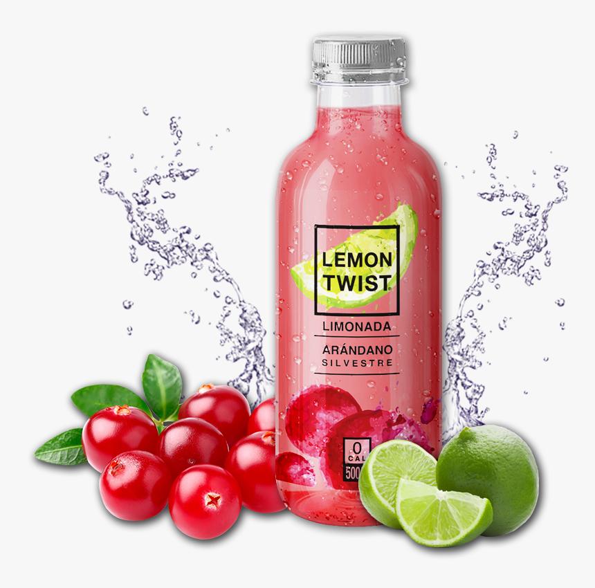 Lemon Twist - Limonada De Arandanos Oxxo, HD Png Download, Free Download