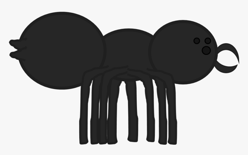 Giant Spider Pose - Cartoon, HD Png Download, Free Download
