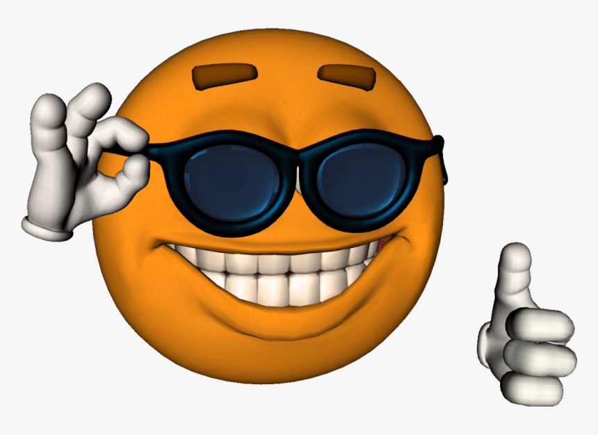 Surreal Memes Wiki - Smiley Face Meme Sunglasses, HD Png Download, Free Download