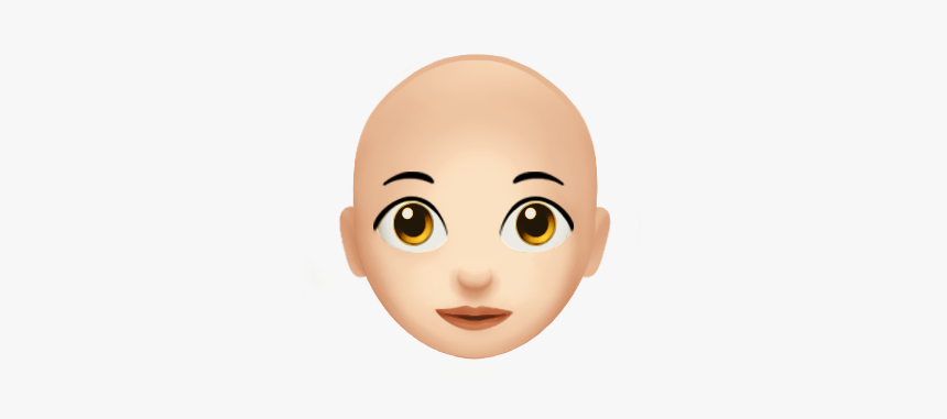 Bald Woman Emoji, HD Png Download, Free Download