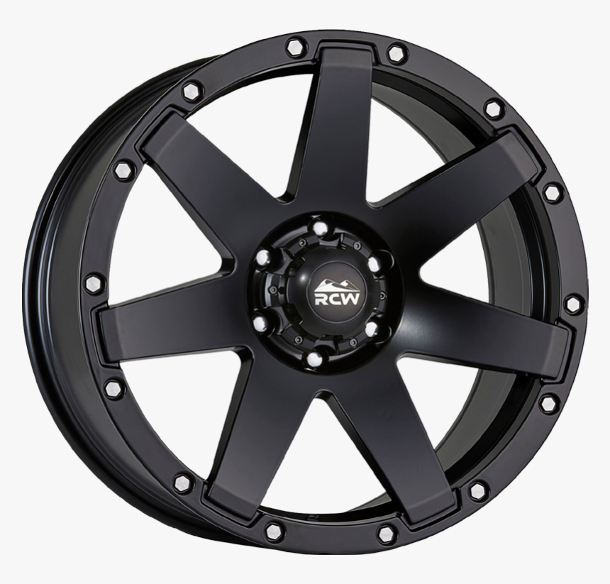 Combat Satin Black / Machined Rivets - Icw 213, HD Png Download, Free Download