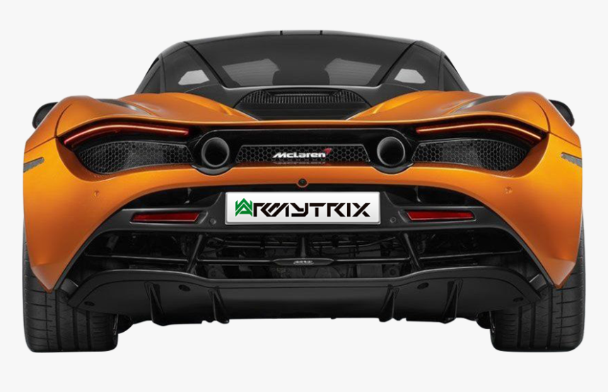 Mclaren 720s Rear View, HD Png Download, Free Download