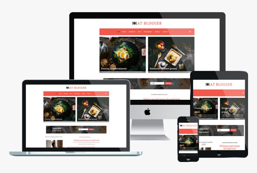 At Blogger Free Responsive Joomla Blog Template - Free Wedding Planner Wordpress Theme, HD Png Download, Free Download