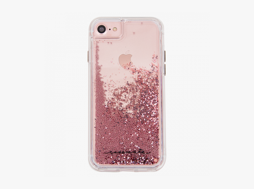 Iphone 6/6s Rose Gold Waterfall Cases - Glitter Case Iphone 8, HD Png Download, Free Download
