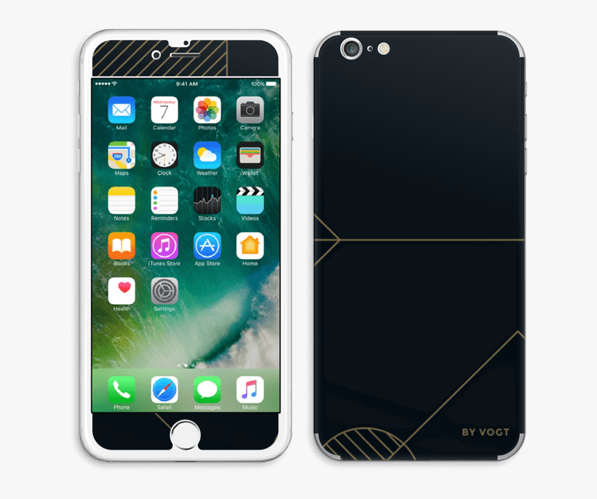 Gold Ride Skin Iphone 6 Plus - Skin Iphone 7 Blue, HD Png Download, Free Download