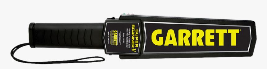 Handheld Metal Detector Transparent, HD Png Download, Free Download