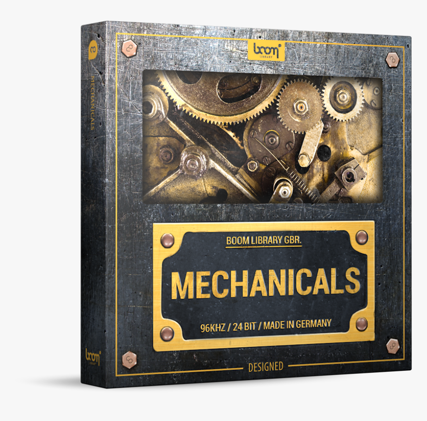 Mechanical Sound Effects Library Product Box - Boom Library Mechanicals Construction Kit, HD Png Download, Free Download