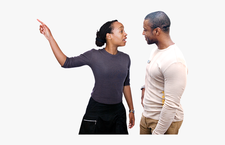 People Pointing Png - Standing, Transparent Png, Free Download