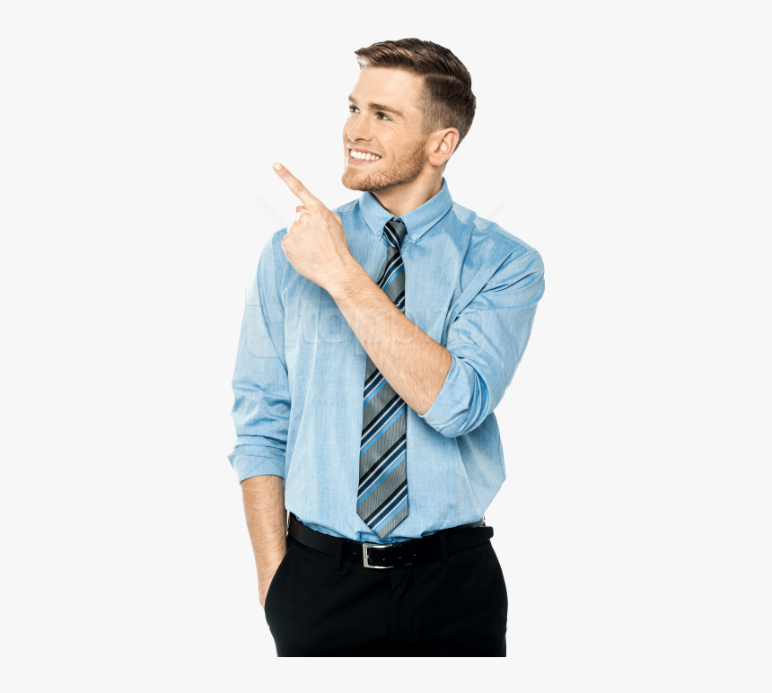 Free Png Men Pointing Left Png Images Transparent - Stock Image Man Png, Png Download, Free Download