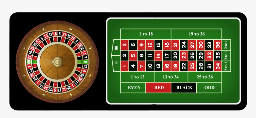 2 1 Roulette Table Wheel Roulette Wheel And Board Hd Png