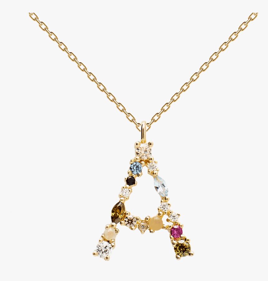 Pd Paola Necklace Letter, HD Png Download, Free Download